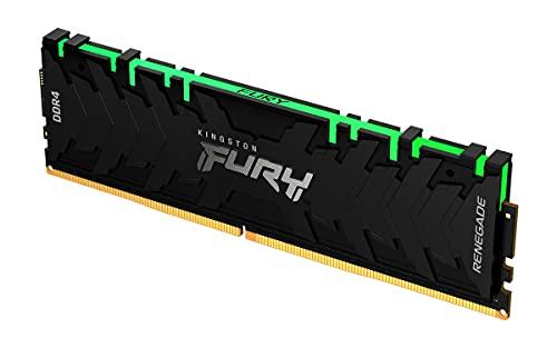 Kingston FURY Renegade RGB 8GB 4000MHz DDR4 CL19 Memoria para Ordenadores de sobremesa Módulo único KF440C19RBA/8