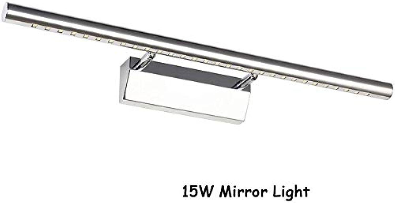 Cwill Gute Qualitt 15W Innenbadezimmer-Wand-Licht LED Sconces 105cm lang im el-Waschraum über Spiegel, Silber