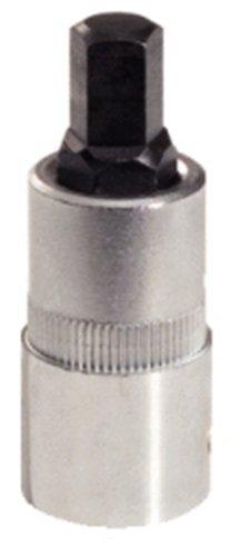 KS Tools 150.2153 - Douille 5 pans pour étrier de frein, 10mm - Version courte - En Chrome Vanadium - Tête brunie