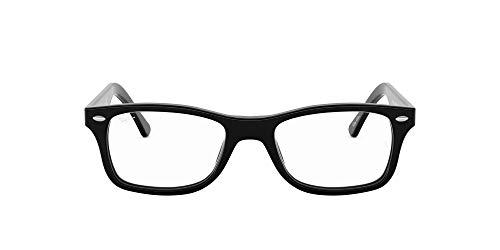 Ray Ban RX5228 - Marcos para anteojos, estilo Wayfarer, 50 x 17 x 140 mm, color negro