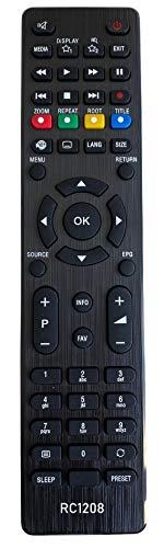 BELIFE® Ersatz Fernbedienung passend für Medion TV Fernseher RC1208 - MSN40038764