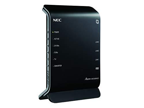 NEC 11ac対応 867+300Mbps 無線LANルータ(親機単体) PA-WG1200HS3