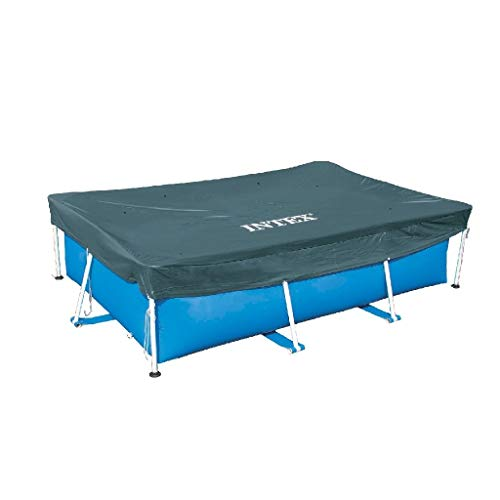 Intex Rectangular Pool Cover - Poolabdeckplane - 300 x 200 cm - Für Rectangular Frame Pool