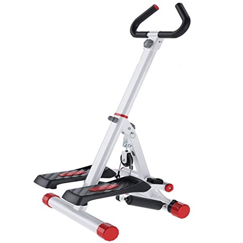 ZYCSKTL Sport Stepper Stepper Fitnessgerät,Stiller Gewichtsverlust-Stepper for Den Haushalt, Faltbarer Multifunktions-Bergsteiger, Ellipsentrainer for Indoor-Sportgeräte