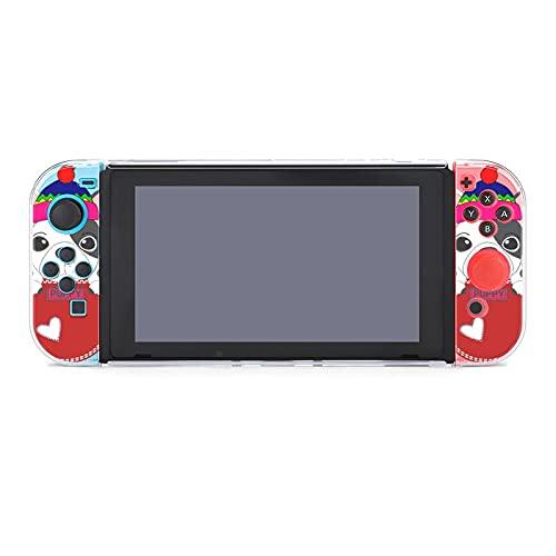 Funda para Nintendo Switch Happy Pocket French Bulldog 5 piezas Funda protectora...