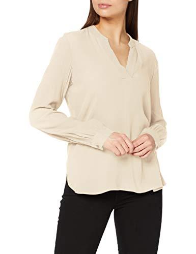 ESPRIT Damen 100EE1F310 Bluse, 295/CREAM BEIGE, 40