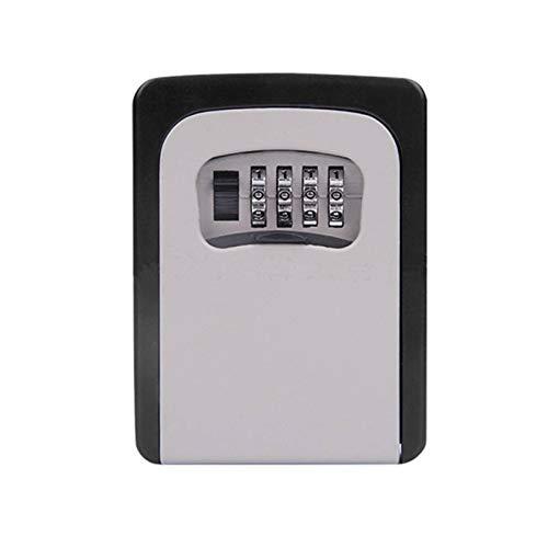 Caja de llaves Caja de almacenamiento Caja de seguridad de contraseña Cerradura de la empresa de construcción Caja de bloqueo de sitio Caja de seguridad montada en la pared