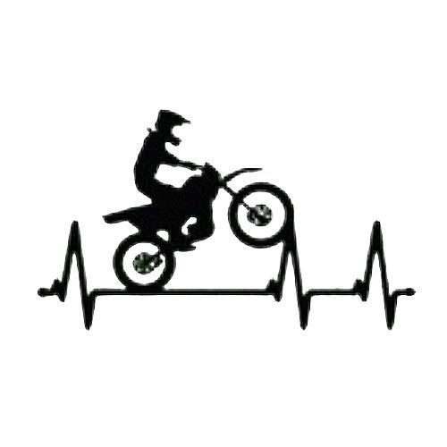 Intervic Pegatina Electro Cardio Cardiomoto Cardiomotocross Sticker Vinilo Para El Casco Coche...