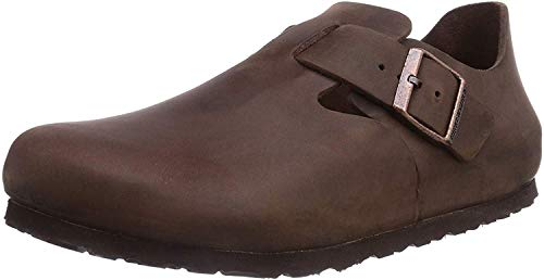 Birkenstock London, Sandales Mixte Adulte, Marron (Habana), L11 M9 42,0