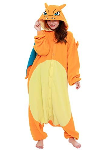 SAZAC Kigurumi - Pokemon - Charizard - Onesie Jumpsuit Halloween...