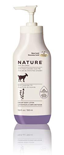 Canus Goat's Milk Goat's Milk Nature Moisturizing Lotion With Fresh Goats Milk Lavender Oil, 11.8 Oz