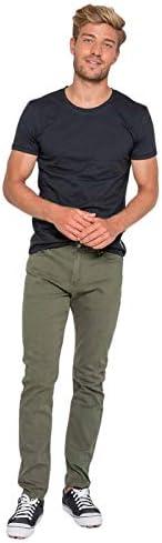 Waxx Pantalon joggjean Bronx Vert Kaki
