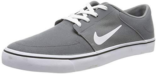 Nike SB Portmore CNVS, Chaussures de Skate Homme, Gris (Cool Grey/White-Black), 40 EU