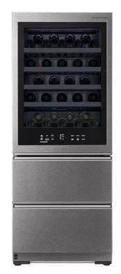 LG Signature LSR200W Weinkühlschrank für 65 Flaschen - Edelstahl, A++