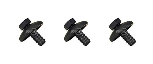 Rotary 3 Pack 14457 Blade Bolt & Washer for Husqvarna Craftsman 532193003 193003