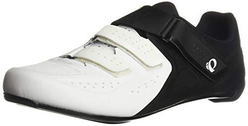PEARL IZUMI Select Road v5, Chaussure de Cyclisme Homme, Blanc/Noir, 39.5 EU