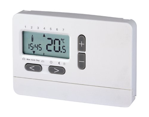 2-Draht-Uhrenthermostat Digital | Raum-Temperaturregelung | LCD-Display | Heizung | Thermostat | Raumregler