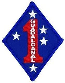 U.S. Marine Corps 1st Marine Division Guadalcanal Patch