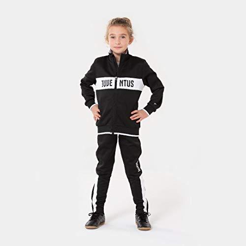 JUVENTUS Morefootballs - Offizieller Turin Trainingsanzug für Kinder - 2020/2021-164 - Langarm Trainingsjacke und Jogginghose - Jacke und Hose für Fussball Training