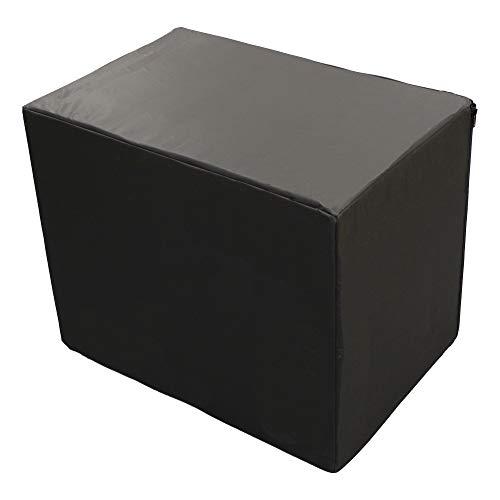 Peak Sports Caja de salto suave 3 en 1 (negro, pequeño)