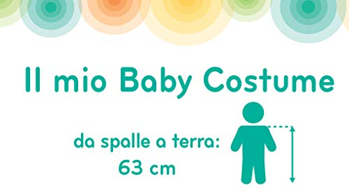 Ciao-Baby Mickey costume tutina fagottino Disney, 6-12 mesi Unisex bambini, 11254.6-12