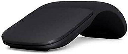Microsoft ARC - Ratón (Ambidextro, BlueTrack, Bluetooth, 1000 dpi, 1200 pps, Negro)