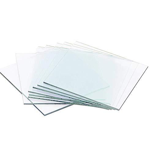 ITO Conductive Coated Glass 50 x 50 x 1.1mm,10-15 ohm/sq,10pcs