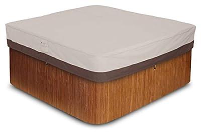 AmazonBasics Square Hot Tub Cover, Large
