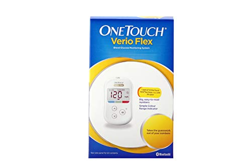 One Touch Verio Flex meter with 10 Free Strips