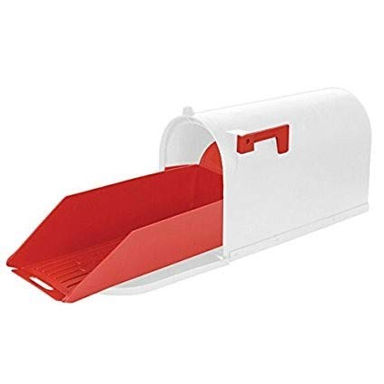 Easy Slide-Out Rural Mailbox Extender Tray