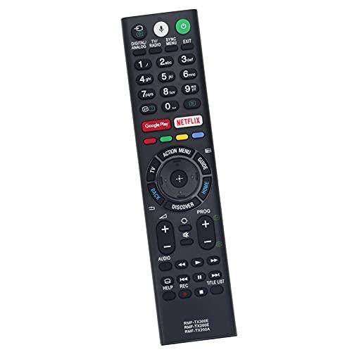 ALLIMITY Voice Fernbedienung Ersetzen für Sony Bravia TV RMF-TX300E RMF-TX200E RMFTX300E RMFTX200E