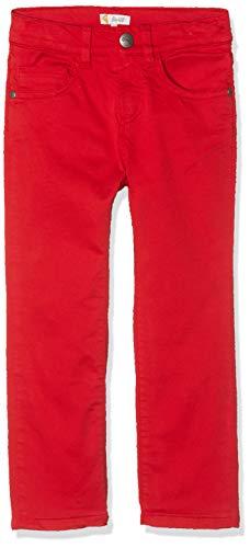 Steiff Jungen Hose , Rot (TANGO RED 4008) , 98 (Herstellergröße:98)