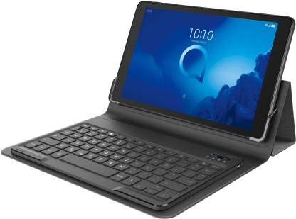 Alcatel 3T 10 with Keyboard 16 GB 10 inch with Wi-Fi+4G Tablet (Midnight Blue)