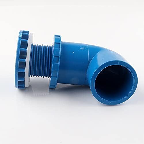 GC-22420 1-10Pcs 2050mm PVC shipfree 90 Connectors Aquarium Elbow F Equal online shop