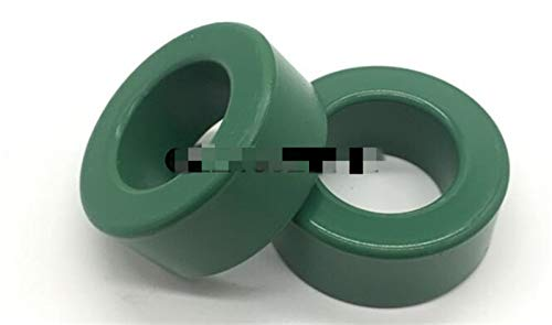 YSJJLRV Inductor 2Pcs 251513mm Green Toroid Ferrite Ring Core for Inductors Chokes