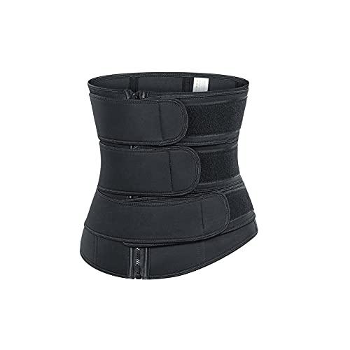 LBBL Cinturilla Tres En Uno, Corsé Mujer Esculpido, Sello Cintura, Cinturón Protección Cintura Cinturón Plástico Deportivo Cinturón Plástico El Sudor Cinturón Cintura Ejercicio