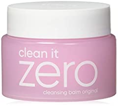 Clean it Zero 3-in-1 Cleansing Balm Original is a hypoallergenic cleanser that transforms from sherbet-like texture into smooth oil when applied onto your skin. Developed to remove even waterproof makeup and all of your skin's impurities in just one ...
