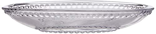 Better & Best Cristal Jabonera bolita pequeña, Medidas 15x8,5x2,5 cm, Material, Talla...