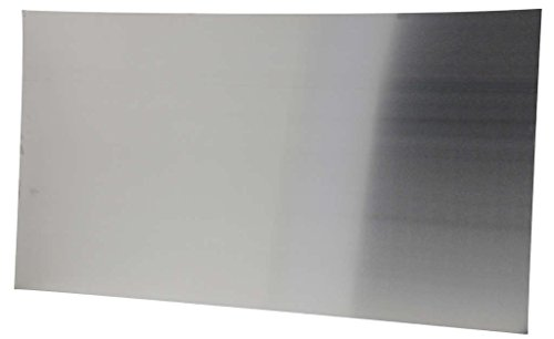 Compactor Large Magnetic Stainless Steel Kitchen Splashback and Memo Board, 50 x 90cm, Silver