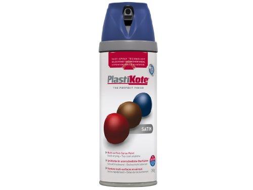 Plasti-kote 22111 400ml Premium Spray Paint Satin - Night Navy