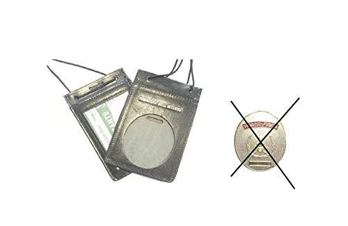 Porta Placca Portaplacca da Collo vigili del Fuoco VVFF Possibilità di Inserire la Placca SENZA PLACCA Art.602-VVFF