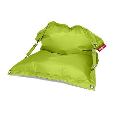 Fatboy® Buggle-Up limegrün | Polyester-Sitzsack für draußen | Loungesessel im Outdoor-Bereich | 185 x 137 cm