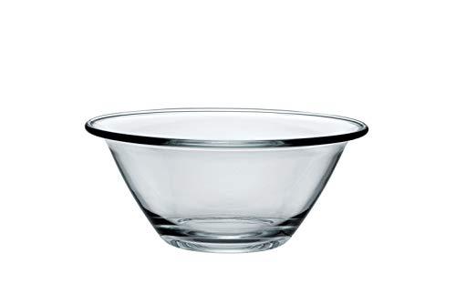 Bormioli 58170 0418454 Saladier empilable en Verre Mr CHEF-22 cm, Transparent, D 22CM
