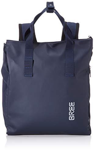 BREE Collection Unisex-Erwachsene Pnch 732, Backpack Rucksack, Blau (Blue), 12x38x32 cm