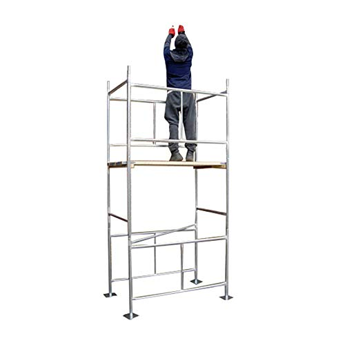 Top tower Classic 3.8m Galvanised Scaffold Tower & Boards