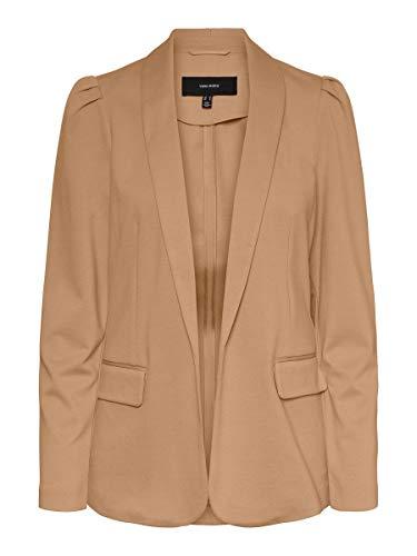 Vero Moda VMESTELLE LS Blazer TLR, marrón, 38 para Mujer