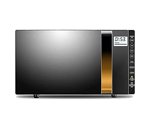 Horno microondas 23L 900 W, Utensilios de Cocina/Reloj y Temporizador, descongelación automática/fácil de Limpiar/Apto para Oficina en casa