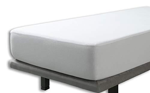 Velfont – Wasserdicht Matratzenauflage für die Wiege, 100% baumwollstrick/Baumwolle | Atmungsaktiv – 60x120cm – verfügbar in verschiedenen Größen | Spannbettlaken | Spannbetttuch