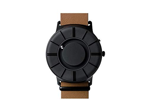 Eone Bradley Apex Black Watch Tan Leather Band