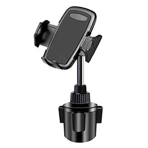 Lopnord Kfz-Halterung für Getränkehalter, Universal Cup Mount für 360 ° Drehbar Kompatibel mit iPhone XS Max XR X 8 Plus 7 6s 6 Plus, Samsung Galaxy S10+ S10 S9+ S9 S8 S7 Note Andere Smartphone